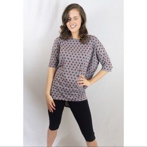 Lula Roe Disney Grey Mini Mouse Shirt